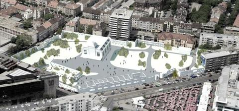 Competition for the urban-architectural concept design for the BADEL SITE redevelopment
